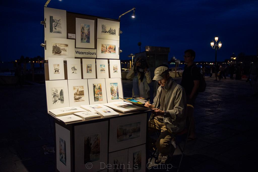 Watercolours on the Waterfront Venezia