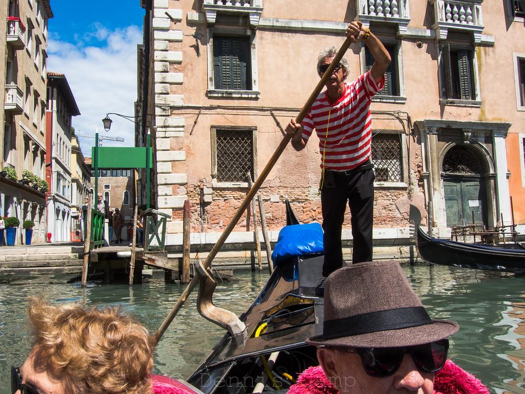 Gondola Ride - Venice Italy