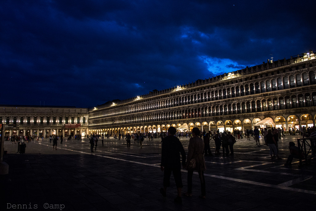 Piazza San Marco - St. Marks Square Square Evening