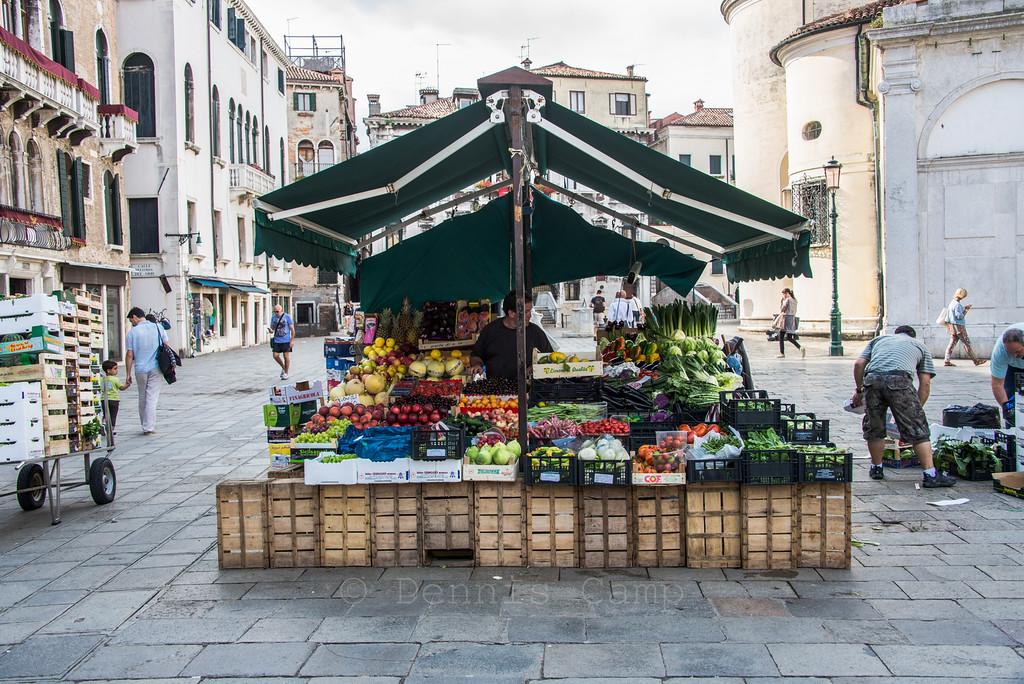 Venice Italy - Produce Market