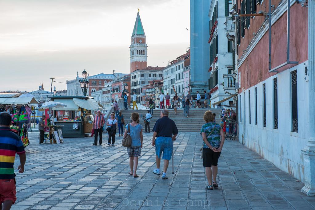 Strolling the Waterfront in Venezia