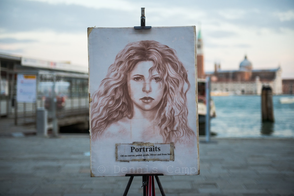 Venezia Waterfront Portait Art