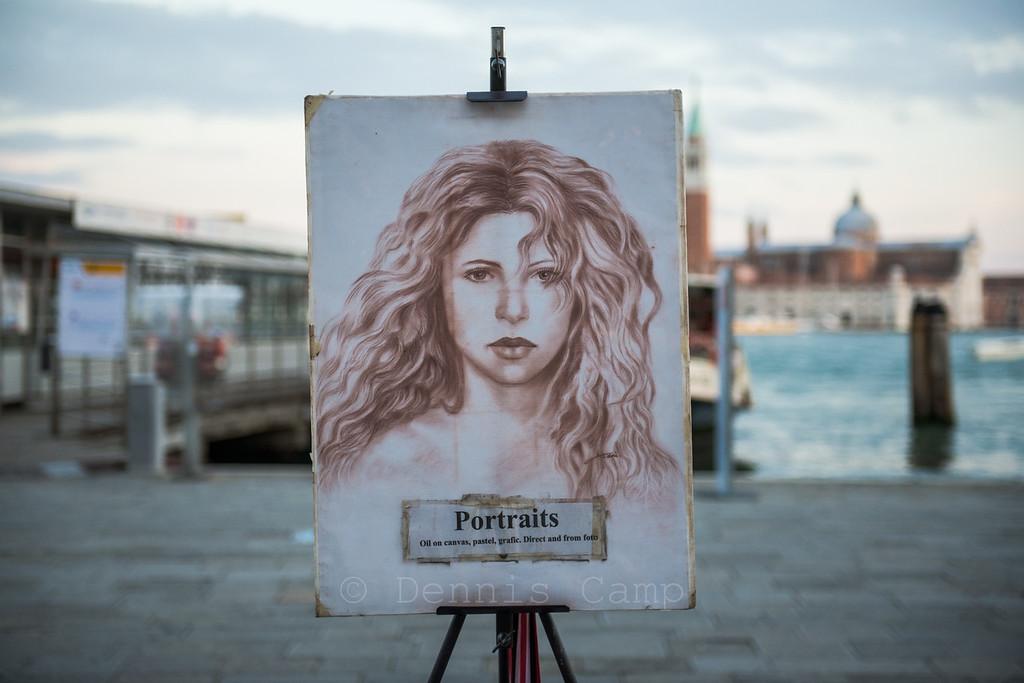 Venezia Waterfront Portait Art