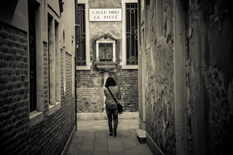 Streets and Alleys of Venezia