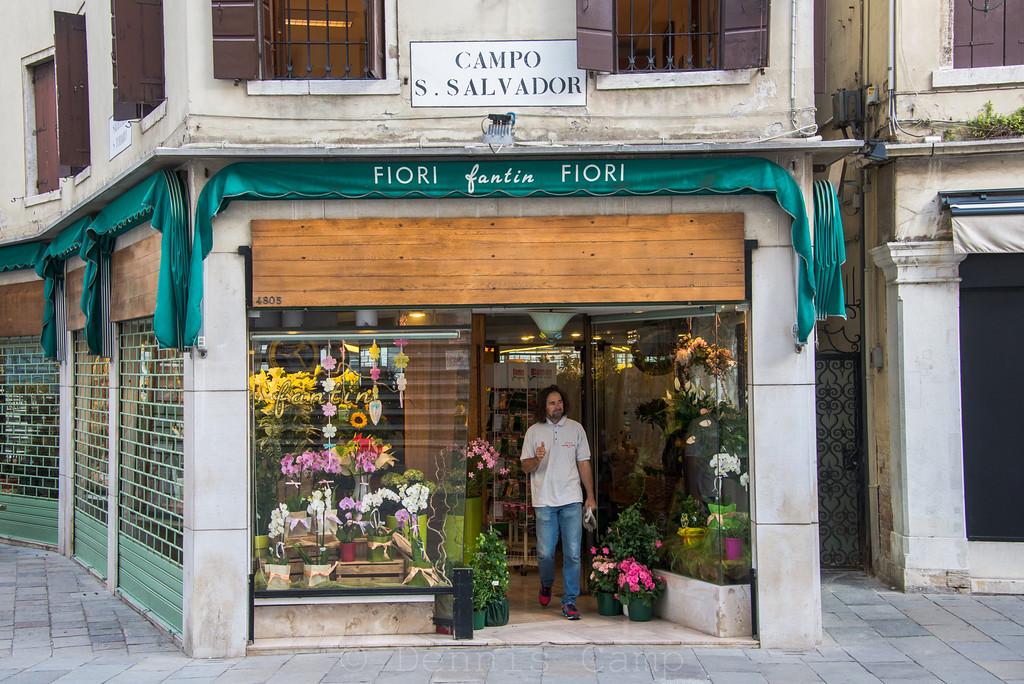 CAMPO  S. SALVADOR  - Florist