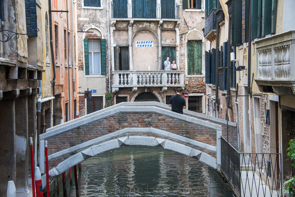 Canals and Bridges of Venice Italy
