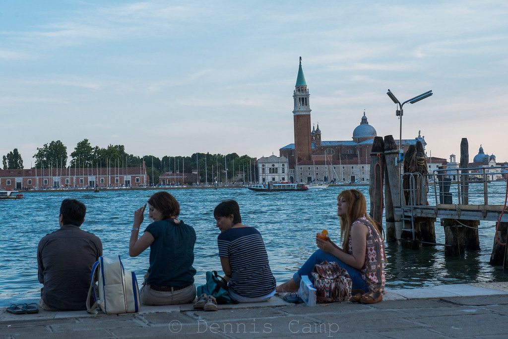 Venezia Waterfront Evening View