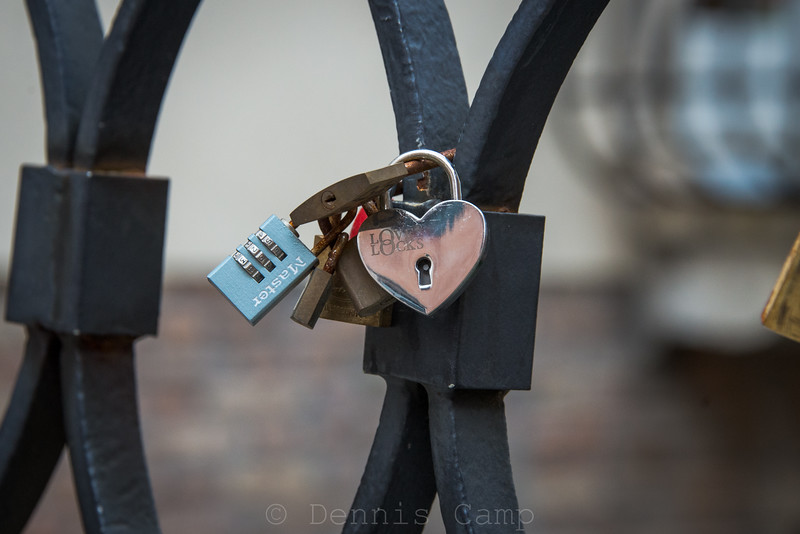 Venetian  Lovers Locks
