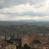 Siena top of Mangia Tower