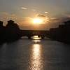 Sunset at Ponte Vecchio