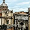 """""""Arch of Septimius Severus"""" - Roman Forum - Roma"""