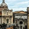 """""""Arch of Septimius Severus"""" - Forum- <br /> roma"""