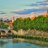 """""""Ponte Cavour and Beyond"""" - Fiume Tevere, Roma"""