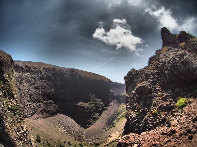 Mt. Vesuvius Crater