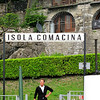 Isola - Comacina ..... A very very small island in the middle of Lake Como ... Locanda Dell'Isola restorante is the only restaurant on the Island.