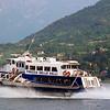 Hydrofoil Lake Ferry Boat on Lake Como Italy