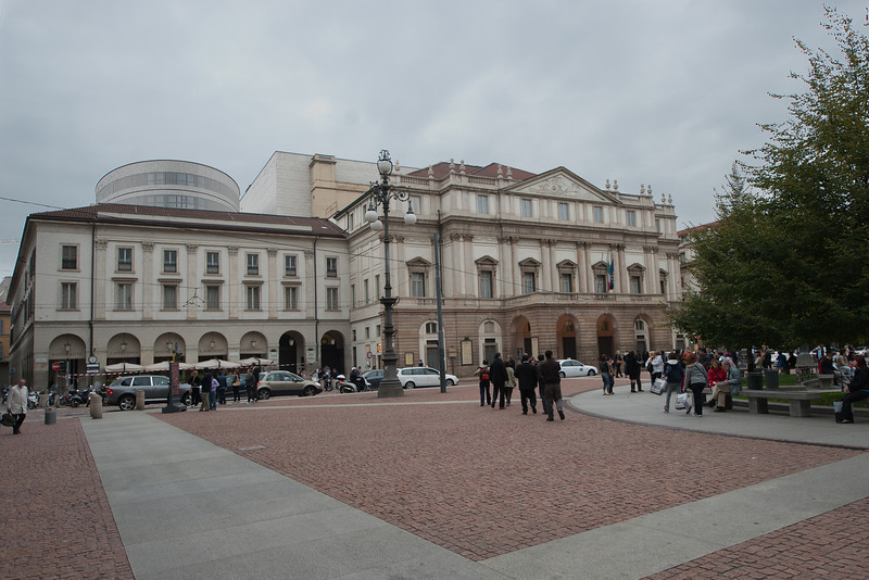 La Scala is a world renowned opera house. The theater was inaugurated on 3 August 1778.
