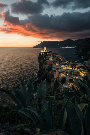 Sunset above Vernaza - Cinque Terre