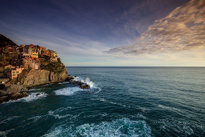 Cliffs At Manarola, Cinque Terre