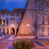 Roman Colosseum At Dawn, Rome