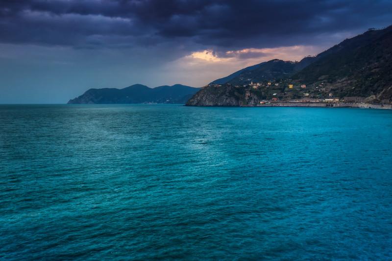 Coastline At Cinque Terre