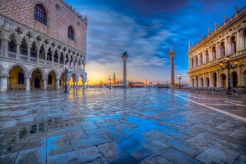 Dawn, Piazza San Marco, Venice