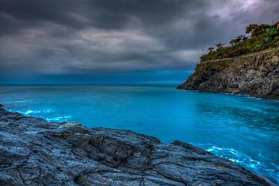 Ligurian Sea At Manarola, Cinque Terre