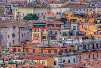 Rooftops, Rome