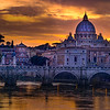 Vatican From Tiber River, Rome