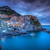 Nighttime At Manarola, Cinque Terre
