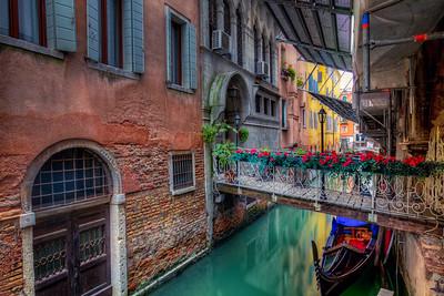 Flowers, Venice Canal