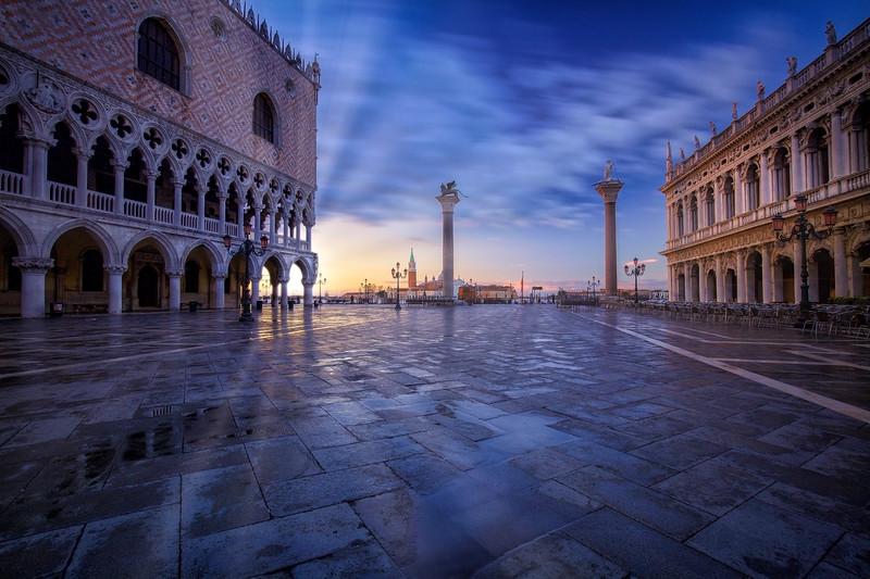 Piazza San Marco Sunrise, Venice