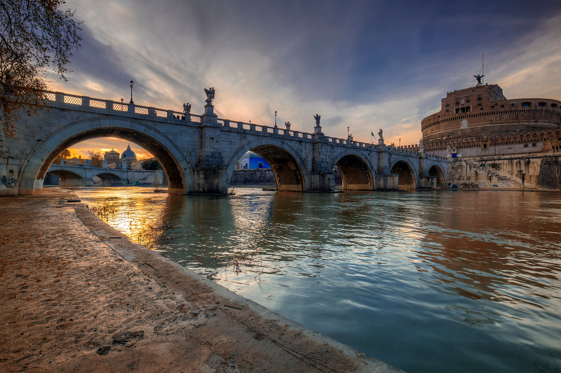 St Angelo Bridge, Rome