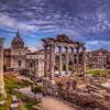 Clouds Over Roman Forum, Rome
