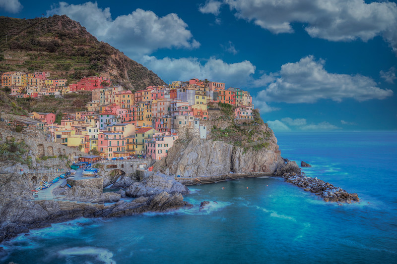 White Clouds, Manarola