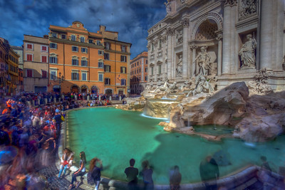 Ghosts Of The Trevi Fountain, Rome