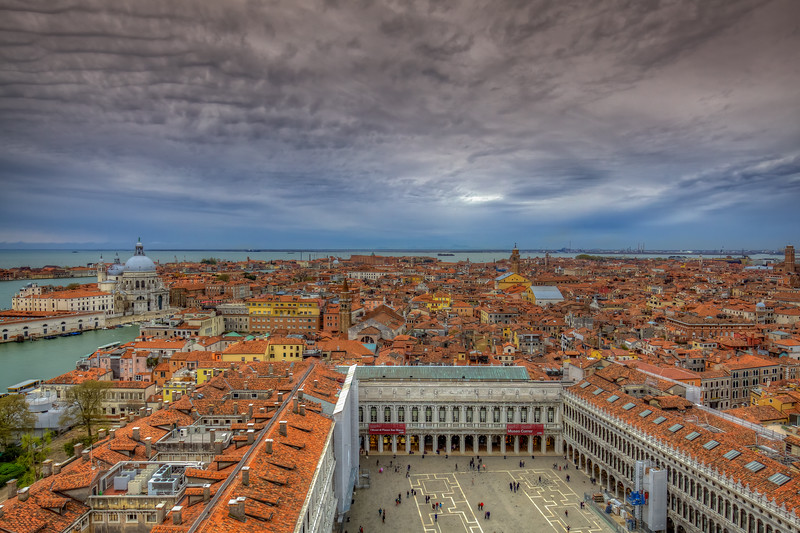 Piazza San Marco From Above, Venice