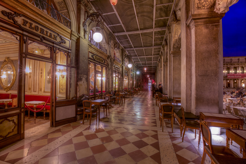 Florian Cafe, Established 1720, Venice