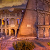 Dawn, Colosseum, Rome