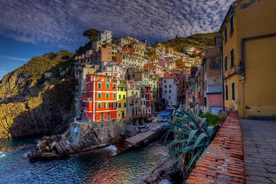 Morning Sun In Riomaggiore, Cinque Terre