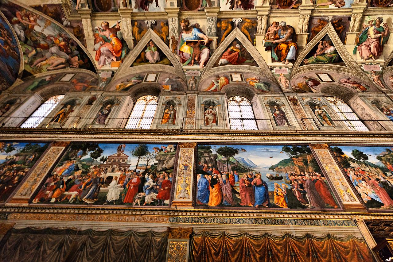 Sistine Chapel, Vatican, Italy