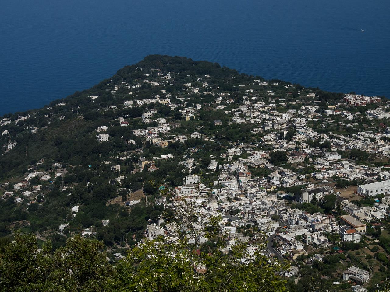 Anacapri from Monte Solara
