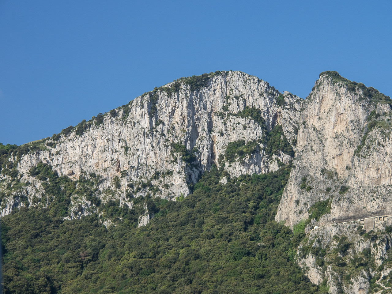 Capri from the sea