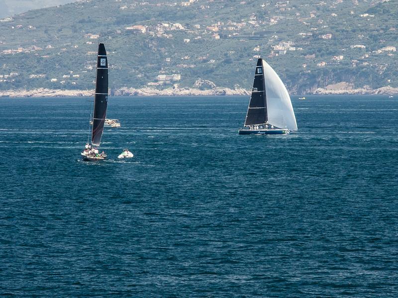 Sailboats Bay of Naples