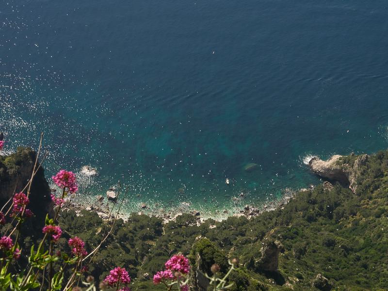 Bay of Naples from Monte Solara with Jupiter's Beard
