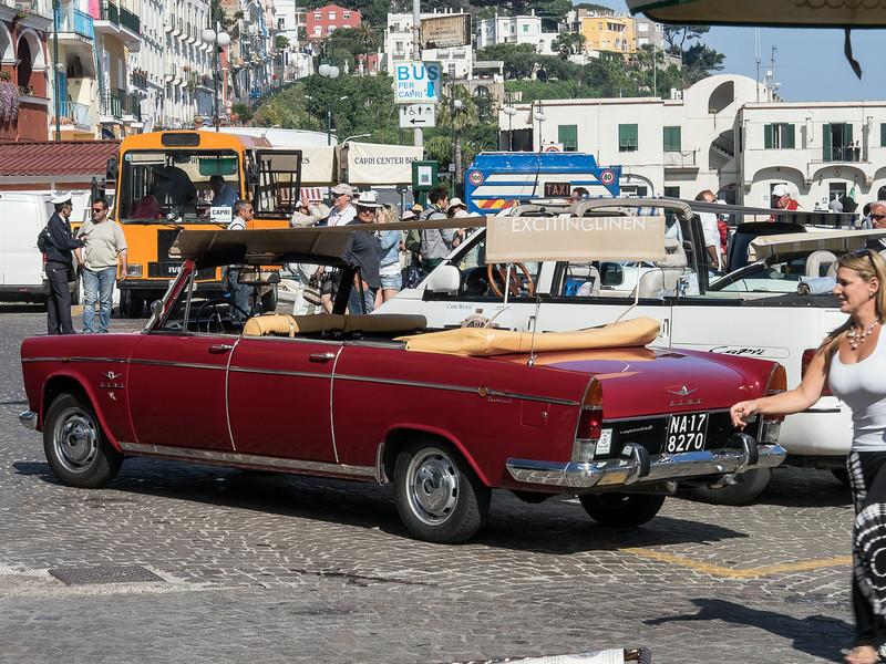 Anacapri - 50s era Fiat