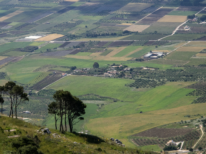 Countryside from Erice