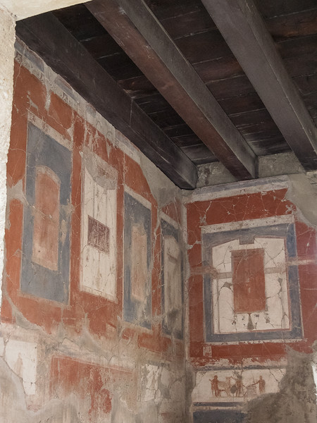 Wall painting in the House of the two Atriums