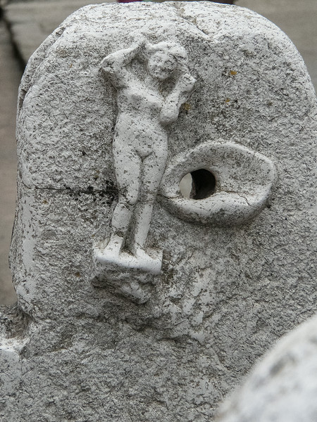 Carving of Venus on a Fountain