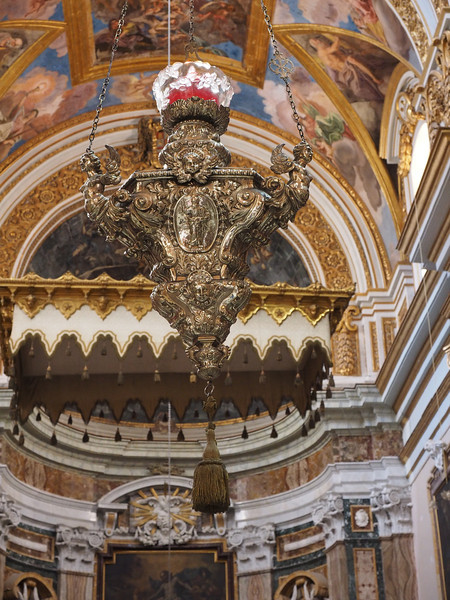 Sanctuary Lamp - St. Paul's Cathedral Mdina
